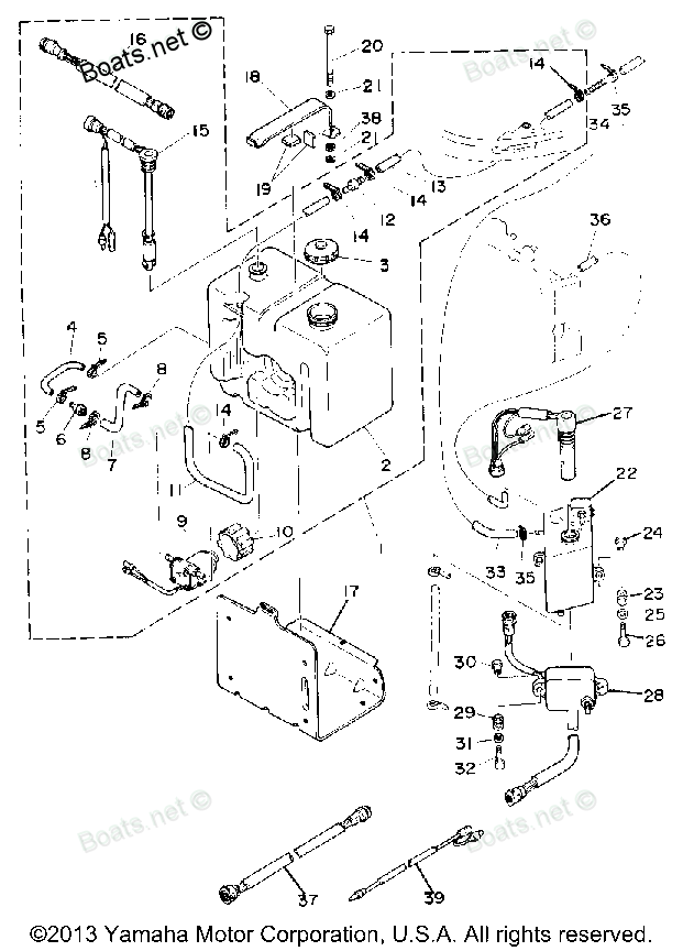Click on image to download 1986 Yamaha 150ETLJ Outboard