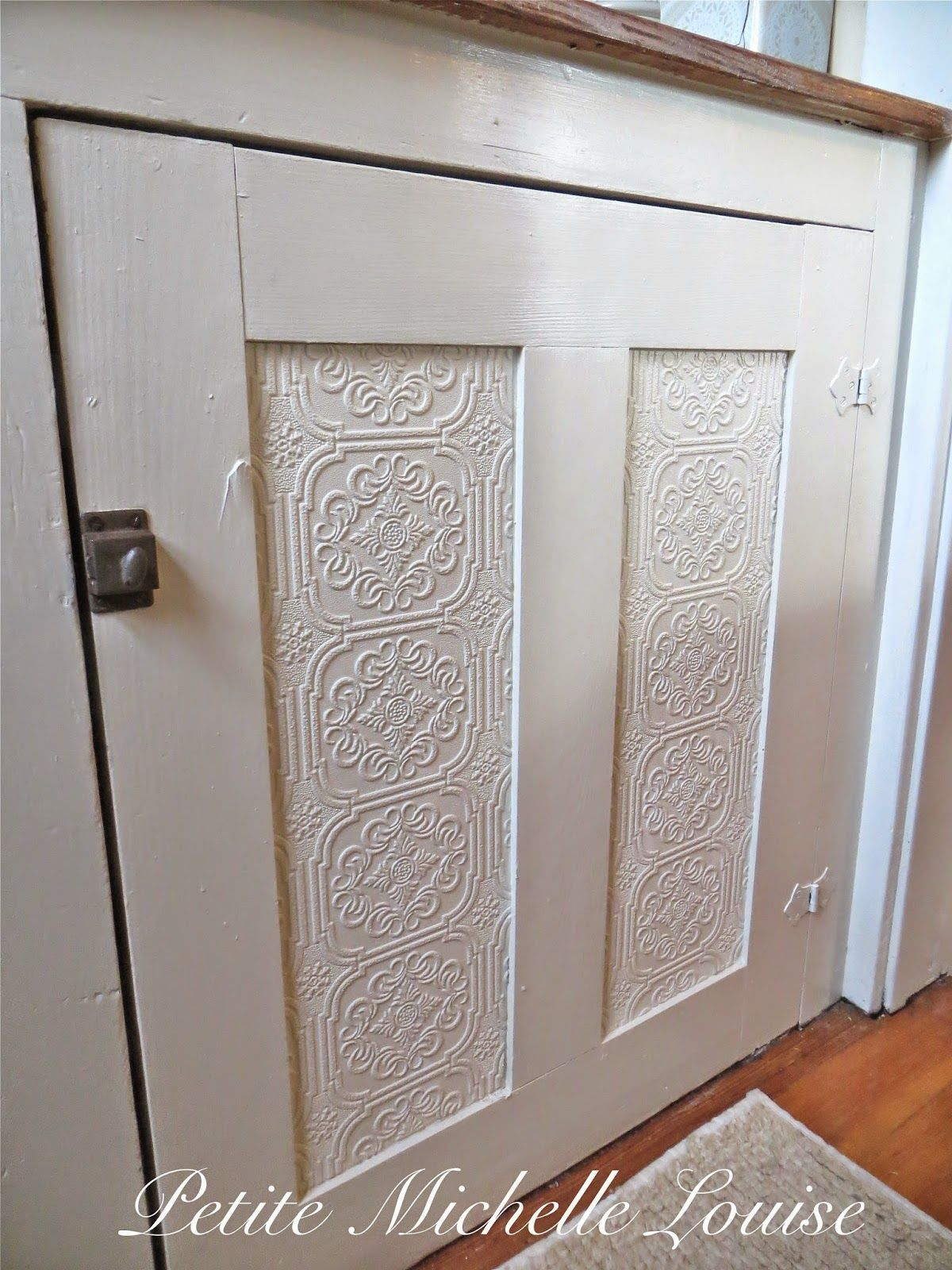 I was ready to give my kitchen pantry doors a fresh coat of paint