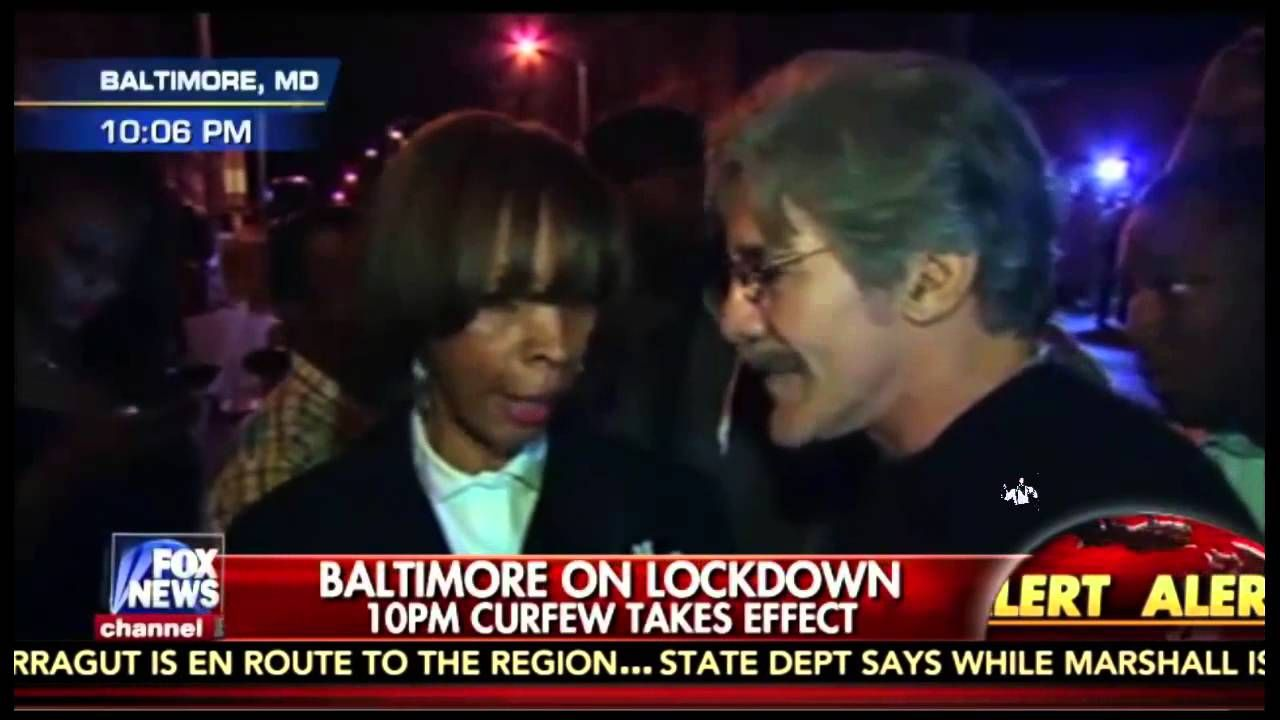 Hannity Puts Geraldo In A Tough Spot with Baltimore Protesters