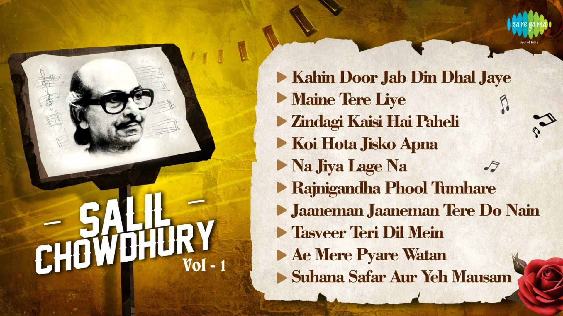 Best Of Salil Chowdhury - Old Hindi Songs - Indian Music