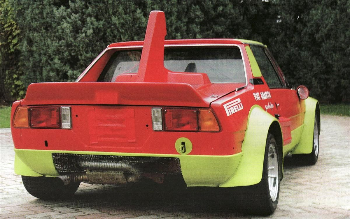 1986 fiat x19 abarth prototipo | abarth italy special cars 1949