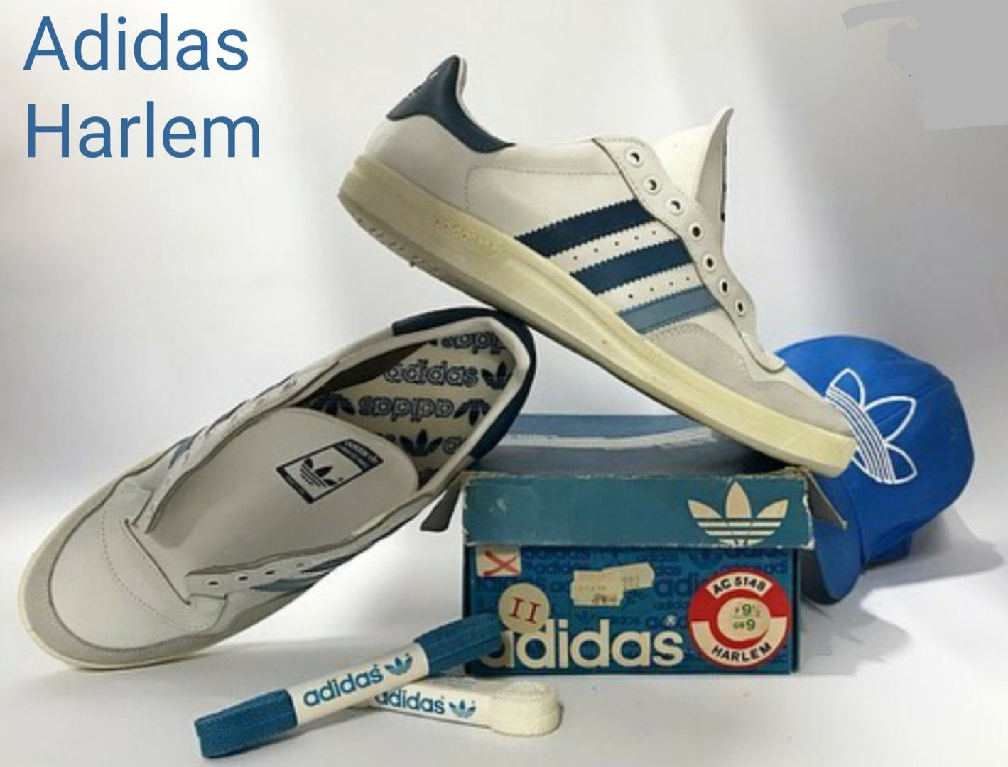 Vintage Adidas Harlem, made in Italy circa 1980 Cheers