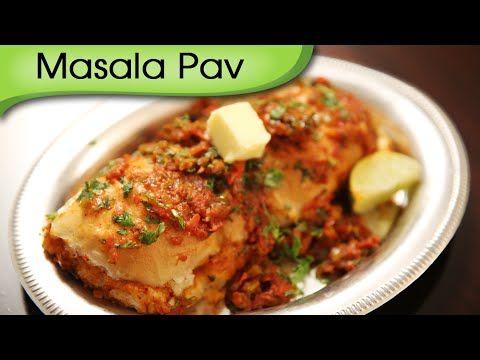 Masala pav mumbai street fast food recipe ruchis kitchen masala pav mumbai street fast food recipe ruchis kitchen youtube forumfinder Choice Image