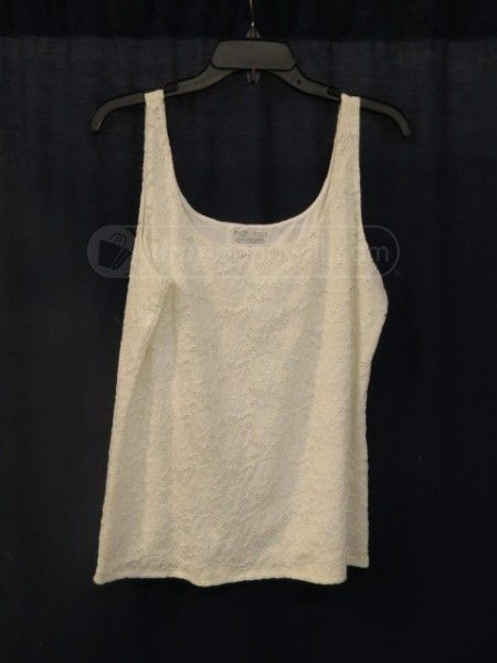 3e238d3381eb2 shopgoodwill.com  White House Black Market Lace Tank Top Size XL ...