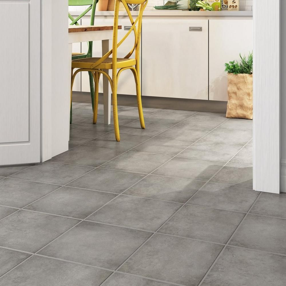 Floor Decor Tulsa Grey Ceramic Tile 12 X 12 7 Mm Thick Ceramic Tile Floor Bathroom Stone Look Tile Tiles