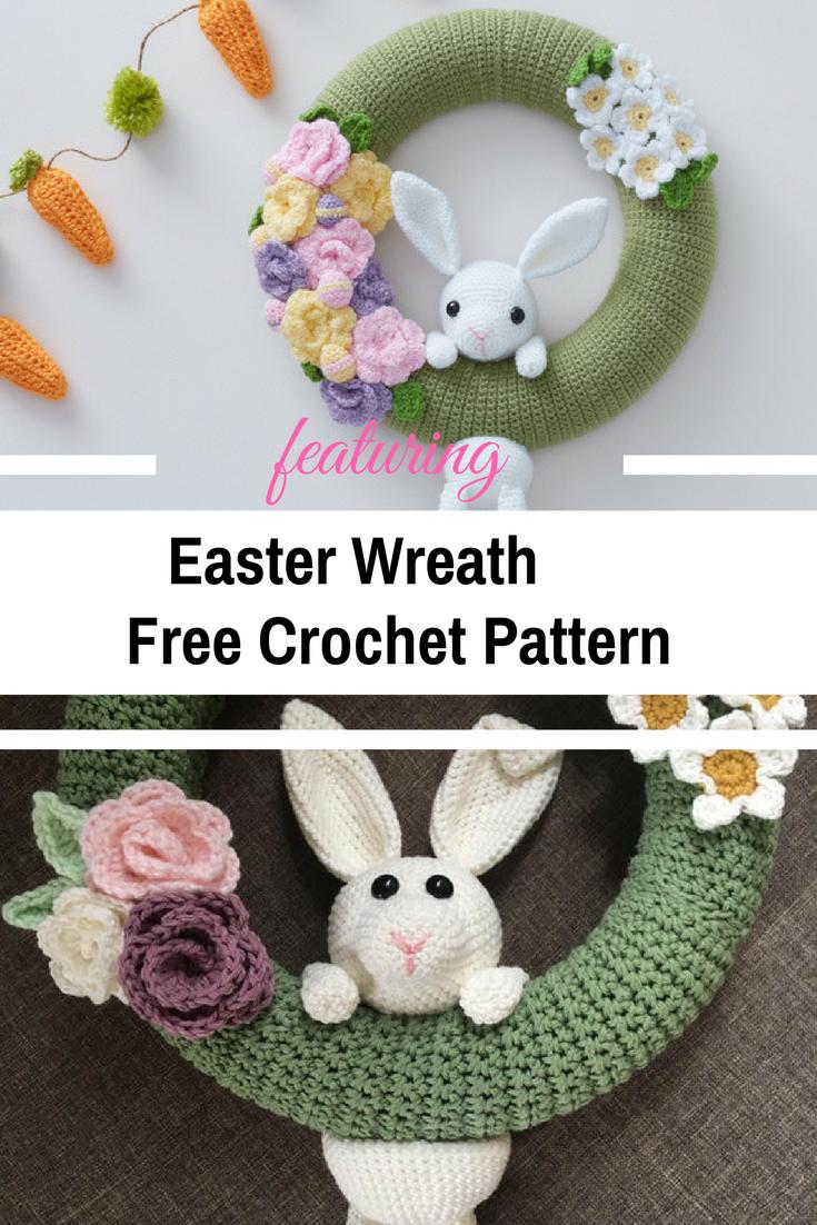 Fabulous Crochet Easter Wreath Pattern To Make Now Crochet