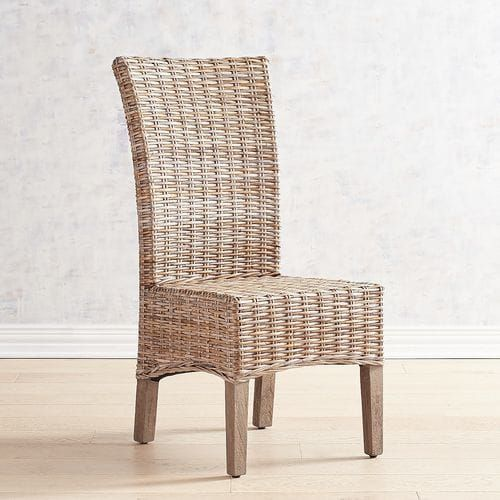 Kubu Dining Chair With Gray Wash Legs Dining Chairs Wayfair Living Room Chairs Furniture