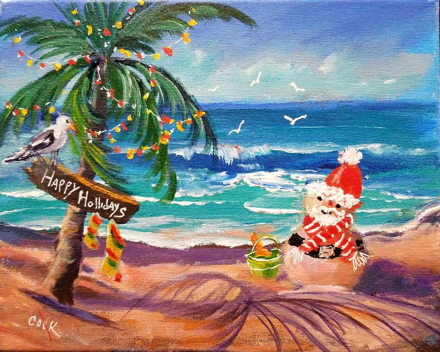 Tropical Christmas As Step By Step Tutorial In Acrylics For Ginger ... History <b>Tropical beaches.</b> Tropical Christmas as step by step tutorial in Acrylics for Ginger ....</p>