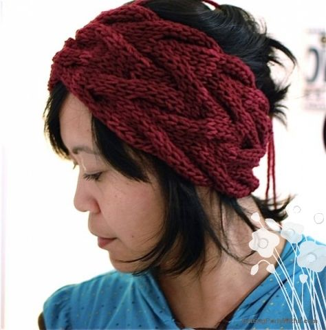 Free headband pattern free pattern vanessa headband getting free headband pattern free pattern vanessa headband getting purly with it dt1010fo