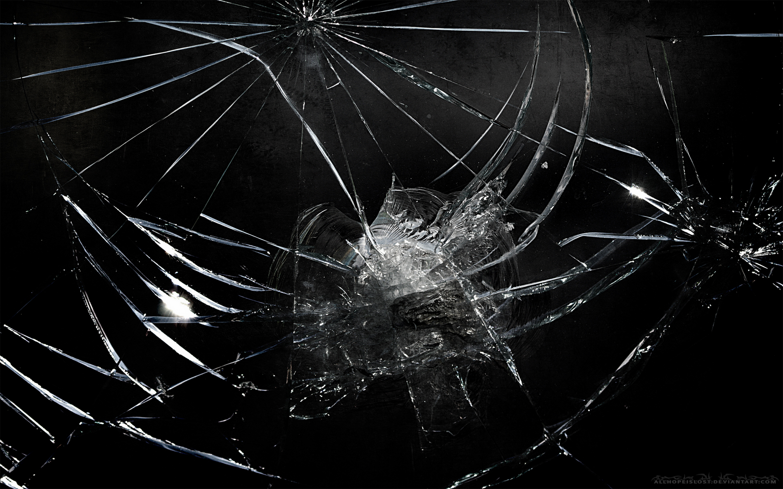 Broken Screen Wallpaper Png 1600 1000