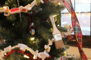 Paint Brushes Nails Bolts All Perfect Ornaments For A Construction Themed Tree Holiday Decor Christmas Tree Tree