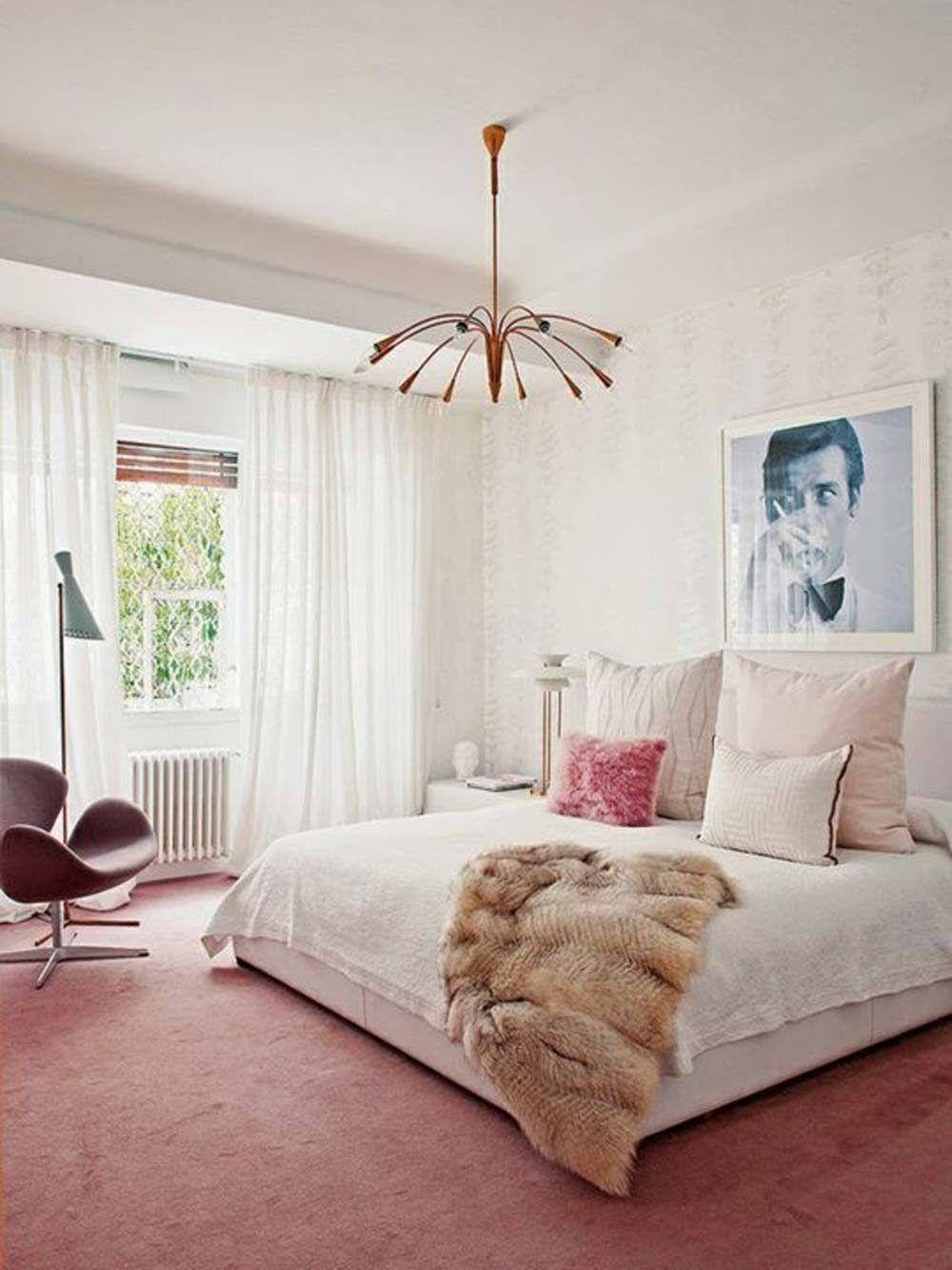 10 Perfect Pink Bedrooms Feminine Bedroom Home Bedroom Modern