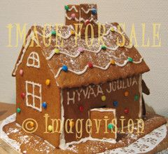 for sale finnish christmas gingerbread house