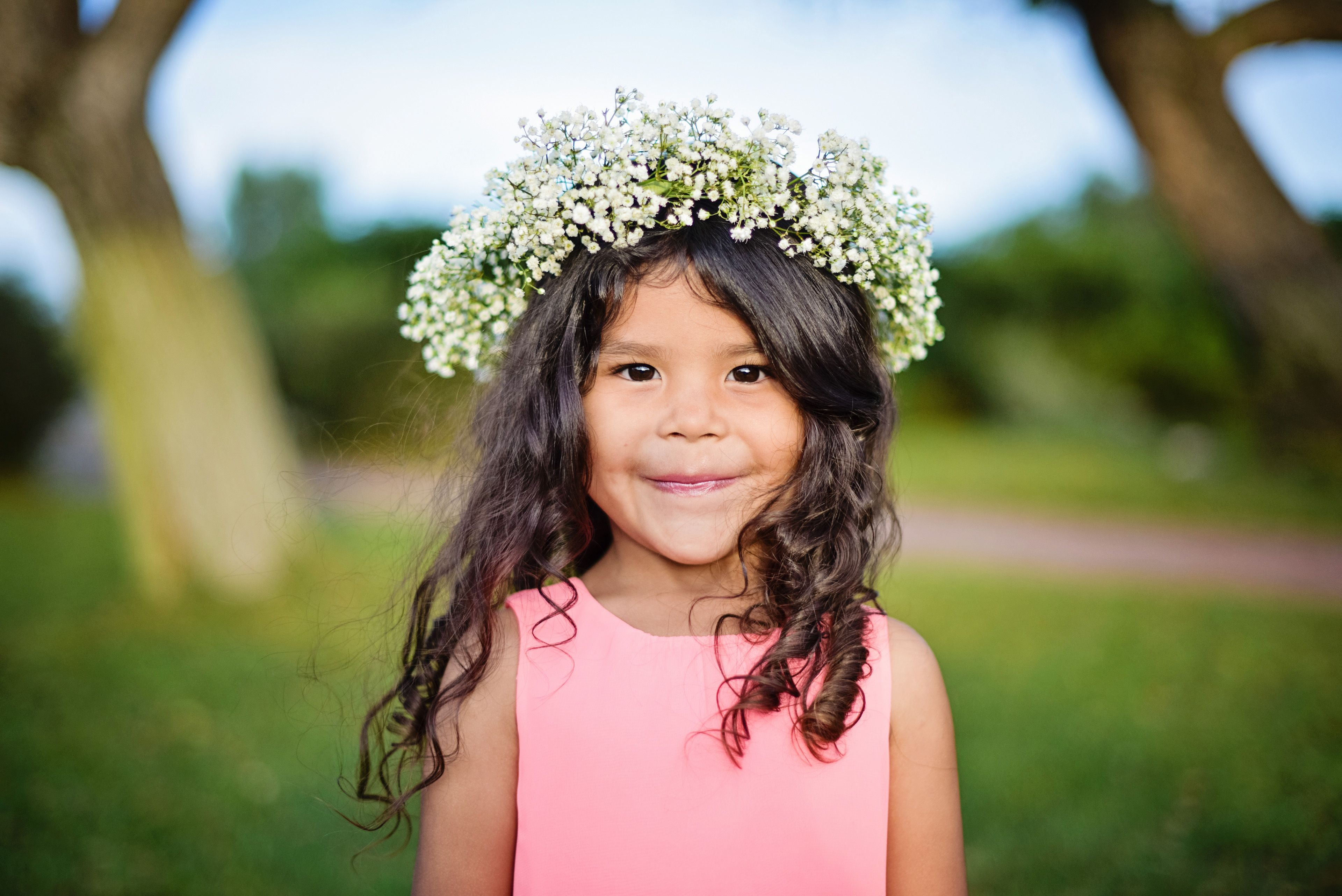 Beautiful flower crown for your flower girl facebook beautiful flower crown for your flower girl facebookhsfloraldesign izmirmasajfo