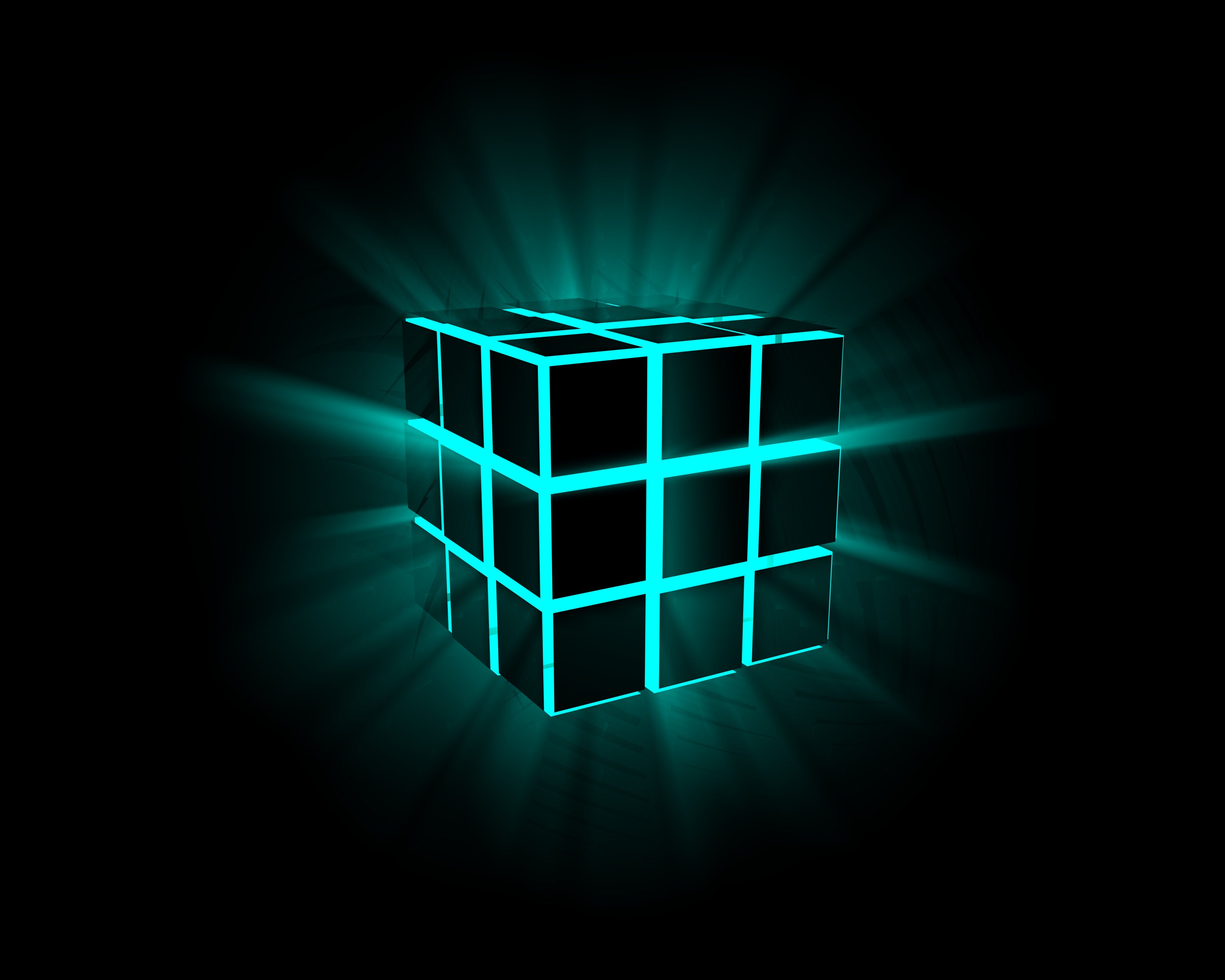 Dark Cubes Wallpapers: D Red And Dark Cubes Wallpaper Free IPhone Wallpapers