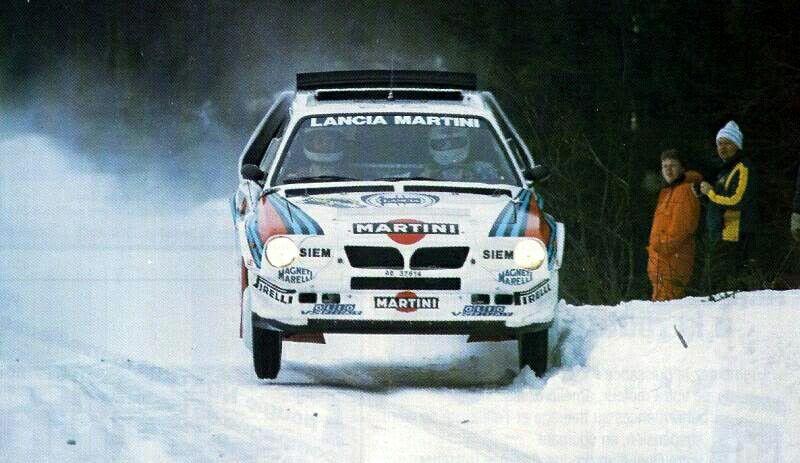 Henry Toivonen. Rally de Suecia 1986