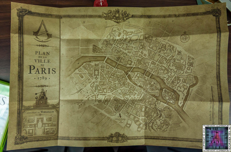 assassins creed unity map
