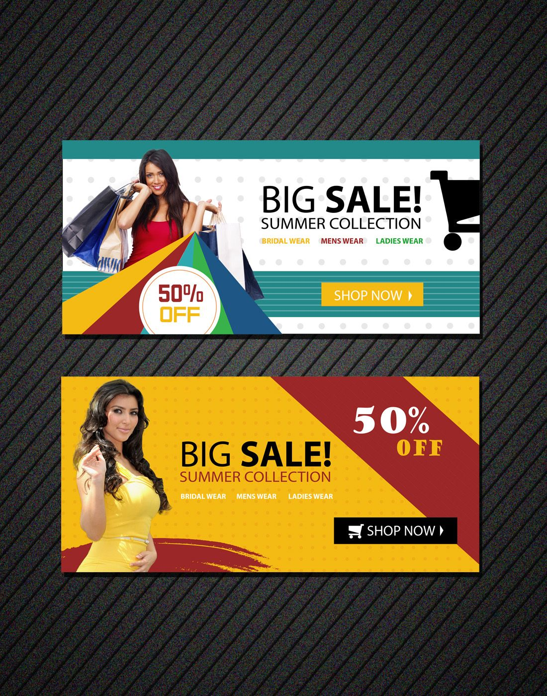 online shopping banners templates Banner template, Free