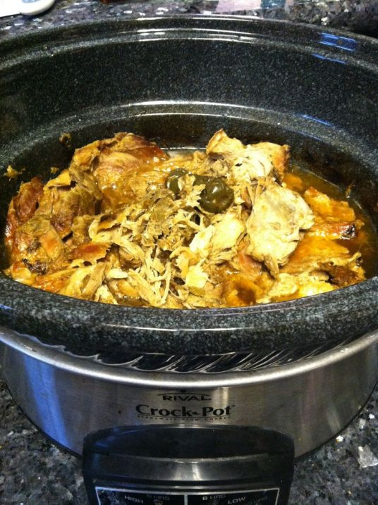 This is probably my best crock pot or slow cooker recipe.  My husband asks me to make carnitas all the time.  Carnitas are absolutely delicious and I thought I would share this since Cinco de Mayo …