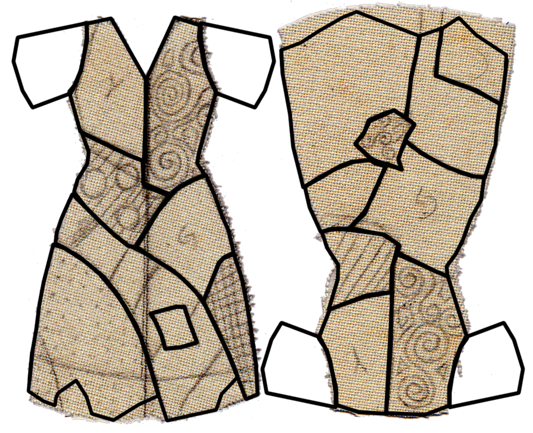 pattern of sallys dress from Nightmare before Christmas - Google ...