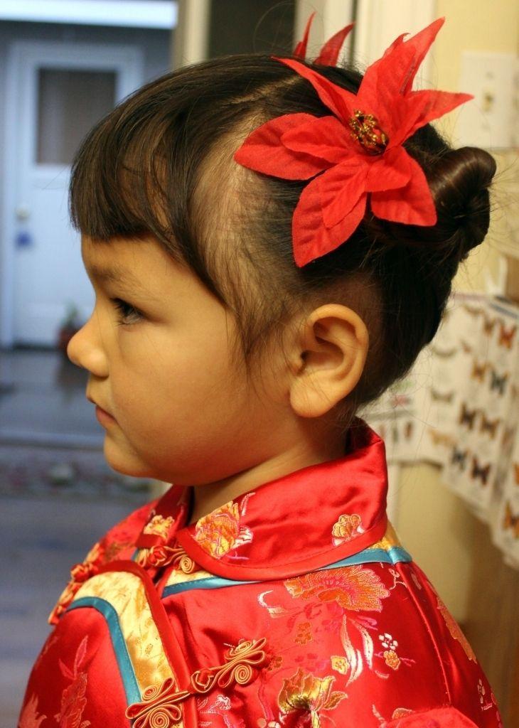 Kinesiske frisurer For Kids Traditional Chinese-2638