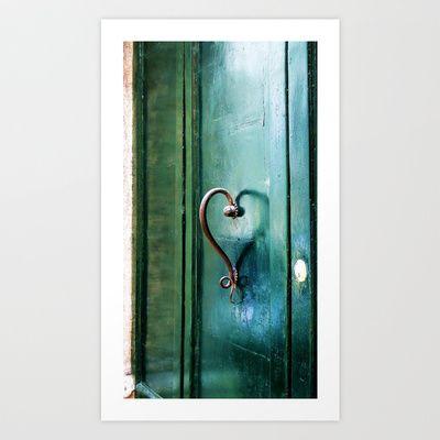 Handle on Love Art Print by Angela Smith - $18.00