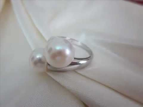 New Pearl Rings For Girls - Silver 925 Jewelry Pearl Rings/Women's Heavy Cool Silver Rings - http://videos.silverjewelry.be/rings/new-pearl-rings-for-girls-silver-925-jewelry-pearl-ringswomens-heavy-cool-silver-rings/