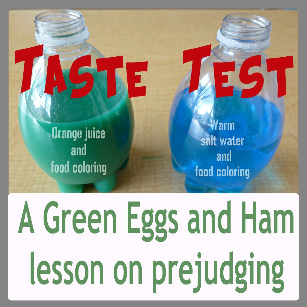 Green Eggs And Ham Lesson Predicting Taste Based On