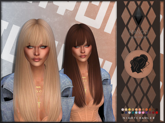 New Hair Mesh Found In Tsr Category Sims 4 Female