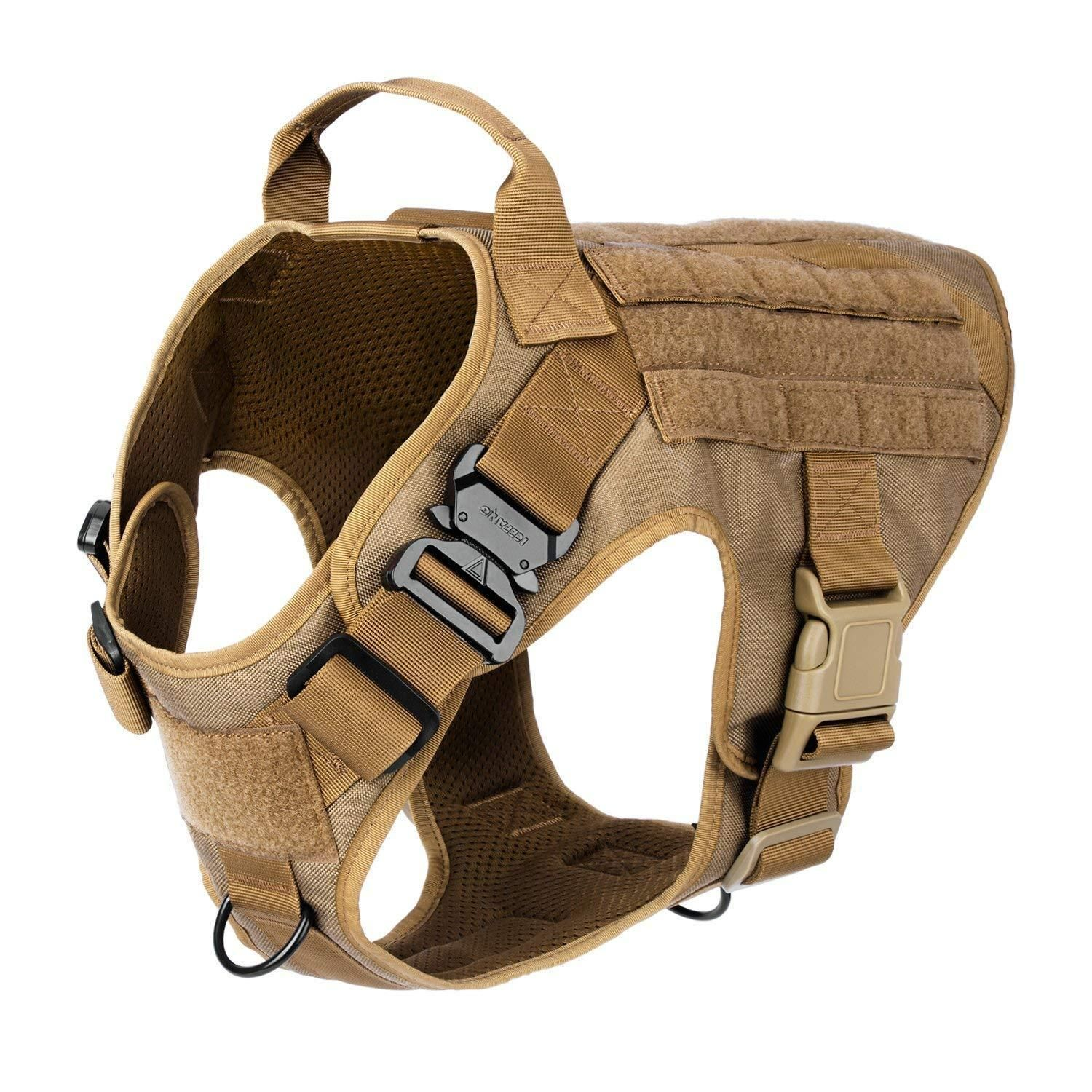 Tactical Dog Harness, Working Dog Vest,No Pulling Front