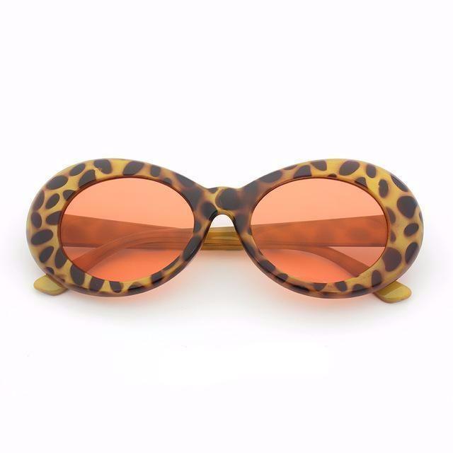 New Retro Vintage Sunglasses Clout Goggles Sunglasses Vintage Sunglasses Men Vintage Retro Oval Sunglasses