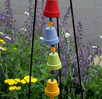 recycled garden art ideas | containers | Pinterest | Recycled garden ...