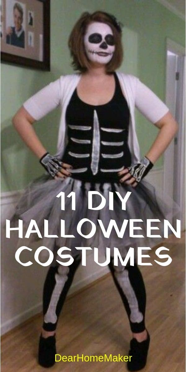 11 DIY Halloween Costumes Ideas for this party HALLOWEEN IDEAS