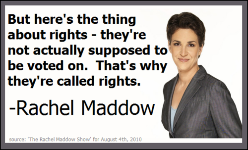 Image result for rachel maddow civil right quote