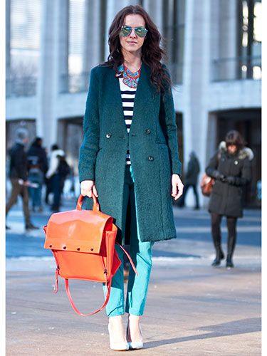 Street Style at New York Fashion Week F/W13