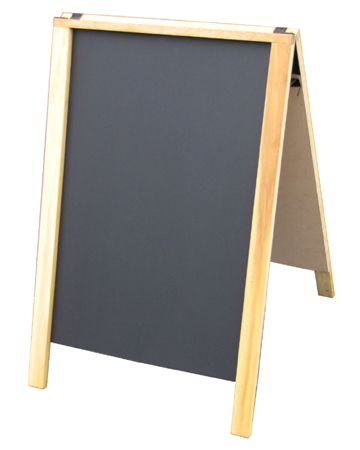 22 Economy Wood A Frame Chalkboard 64 95 Marketing