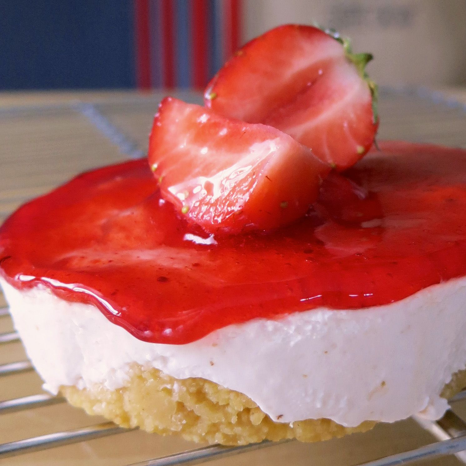 #torta allo #yogurt con #fragole #fresche #strowberry #cake