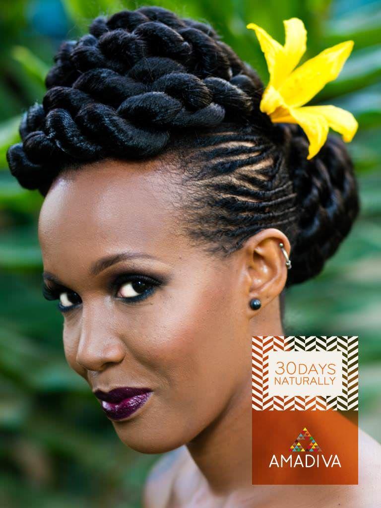 Nairobi Salon Gives Natural Hair Makeovers to 30 Kenyan