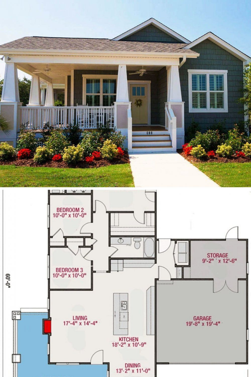 Pin On House Plans One Story 1500