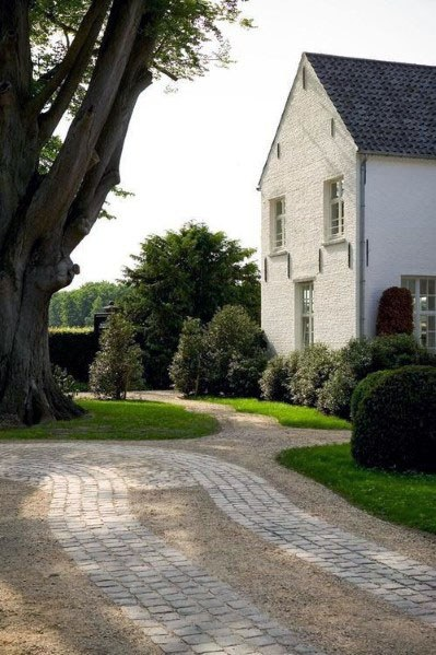 Top 60 Best Driveway Landscaping Ideas  Home Exterior Designs is part of Driveway landscaping, Garden design, Brick driveway, Backyard, House exterior, Exterior design - From lush greenery to wellmaintained flower beds and hedges, discover the top 60 best driveway landscaping ideas  Explore unique home exterior designs