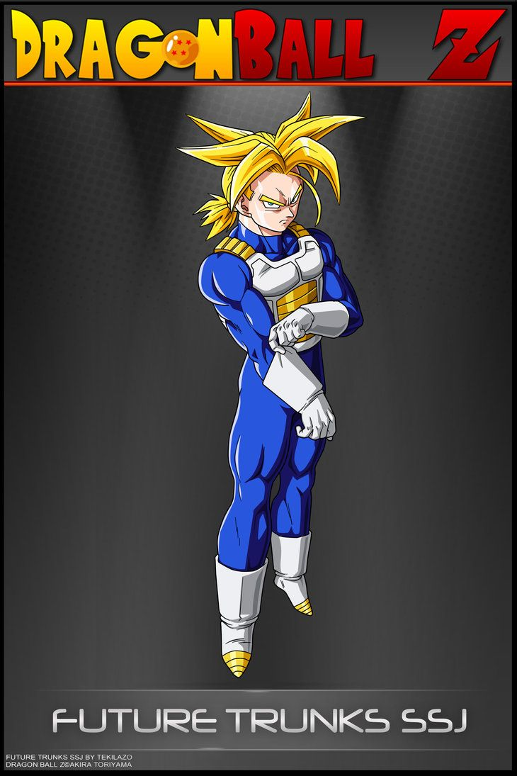 Dragon Ball Z - Trunks SSJ-SA by DBCProject | Dragon ball ...