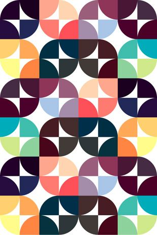 Our Home 39 S Inspiration Palette Circles Cool Patterns