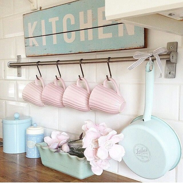 d tails pastel kitchen pinterest haus shabby chic und shabby chic k che. Black Bedroom Furniture Sets. Home Design Ideas