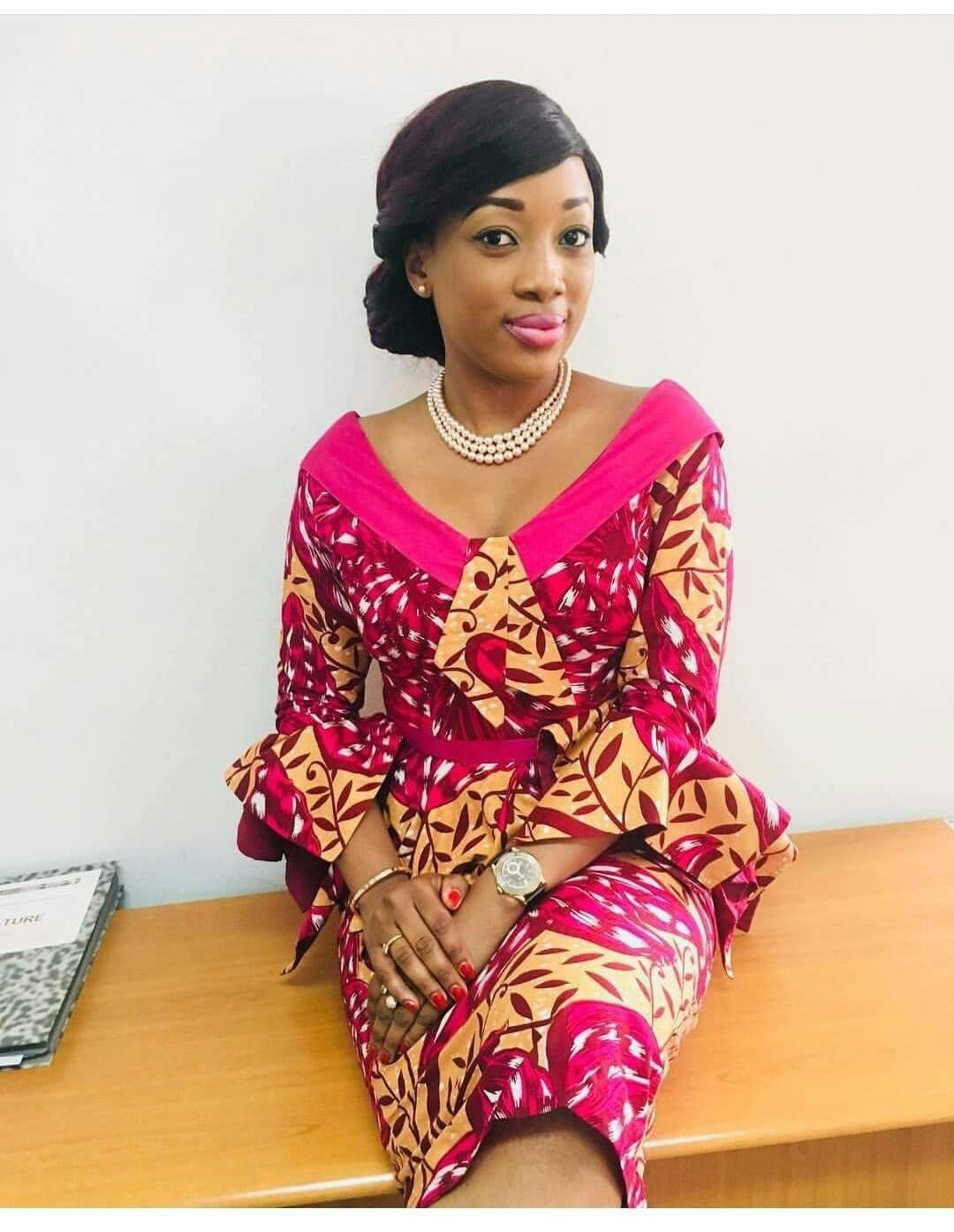 Épinglé par Leslie Nana sur leslie | Model pagne africain, Tenue africaine, Mode africaine