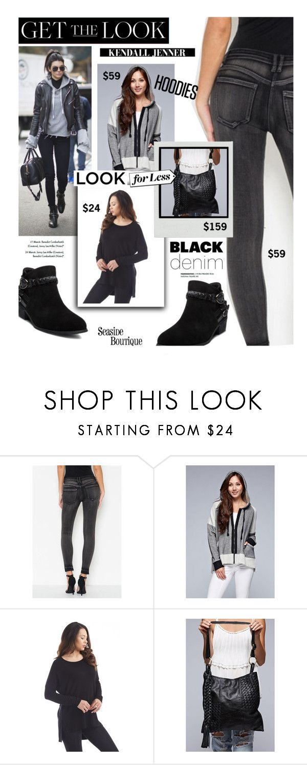 """""""Get The Look: Kendall Jenner"""" by seaside-boutique ❤ liked on Polyvore featuring Ann Creek, Elizabeth and James, women's clothing, women's fashion, women, female, woman, misses and juniors"""