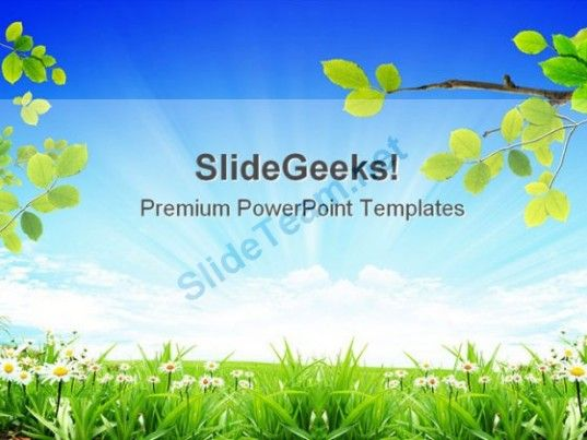 Nature Beauty Powerpoint Template 0910 Powerpoint Themes