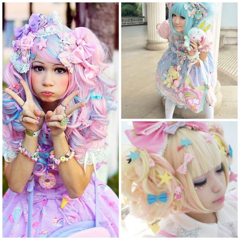 Mode japonaise  3 looks de mode kawaii