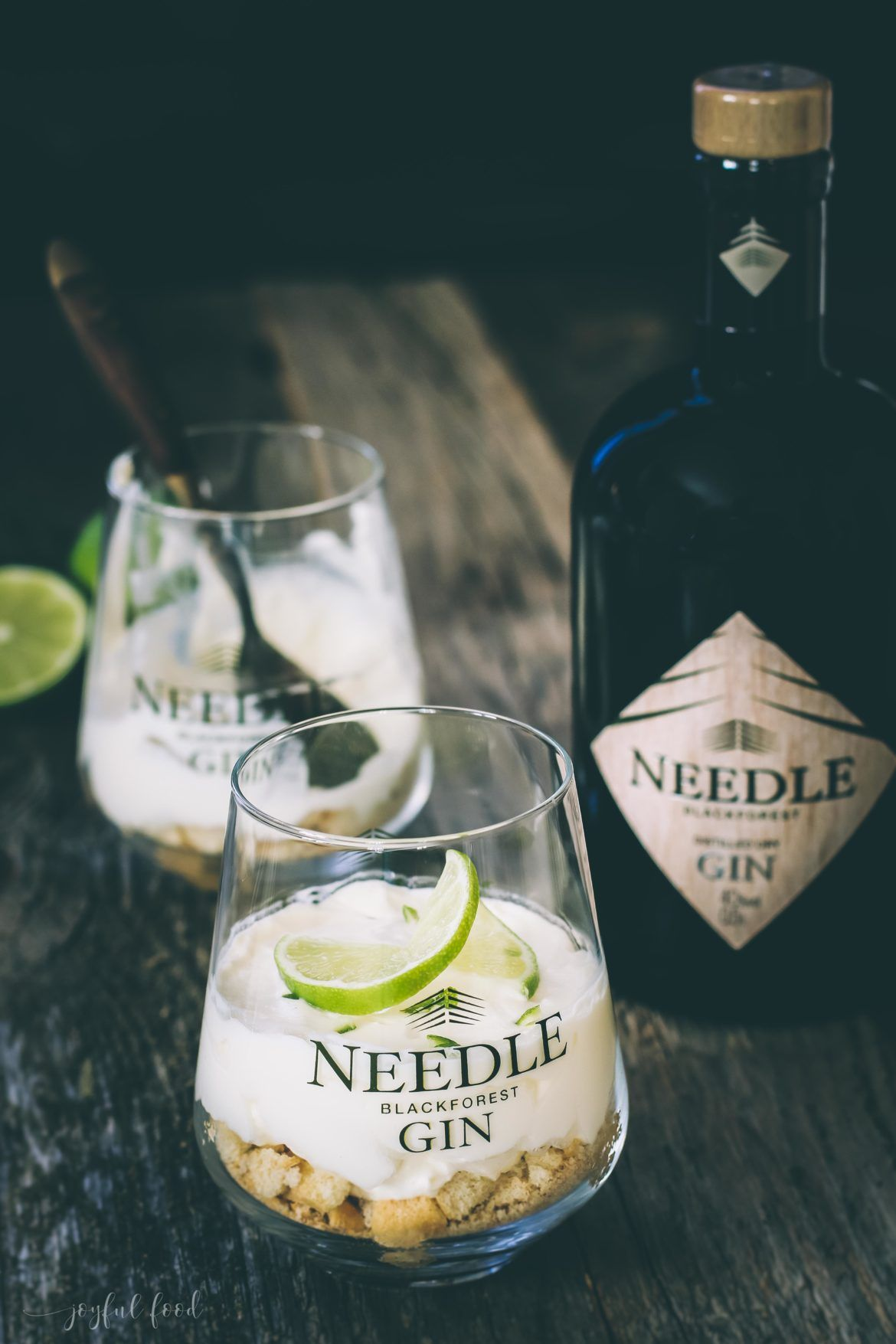Gin Tonic Dessert Versuchung im Glas #alcoholicpartydrinks
