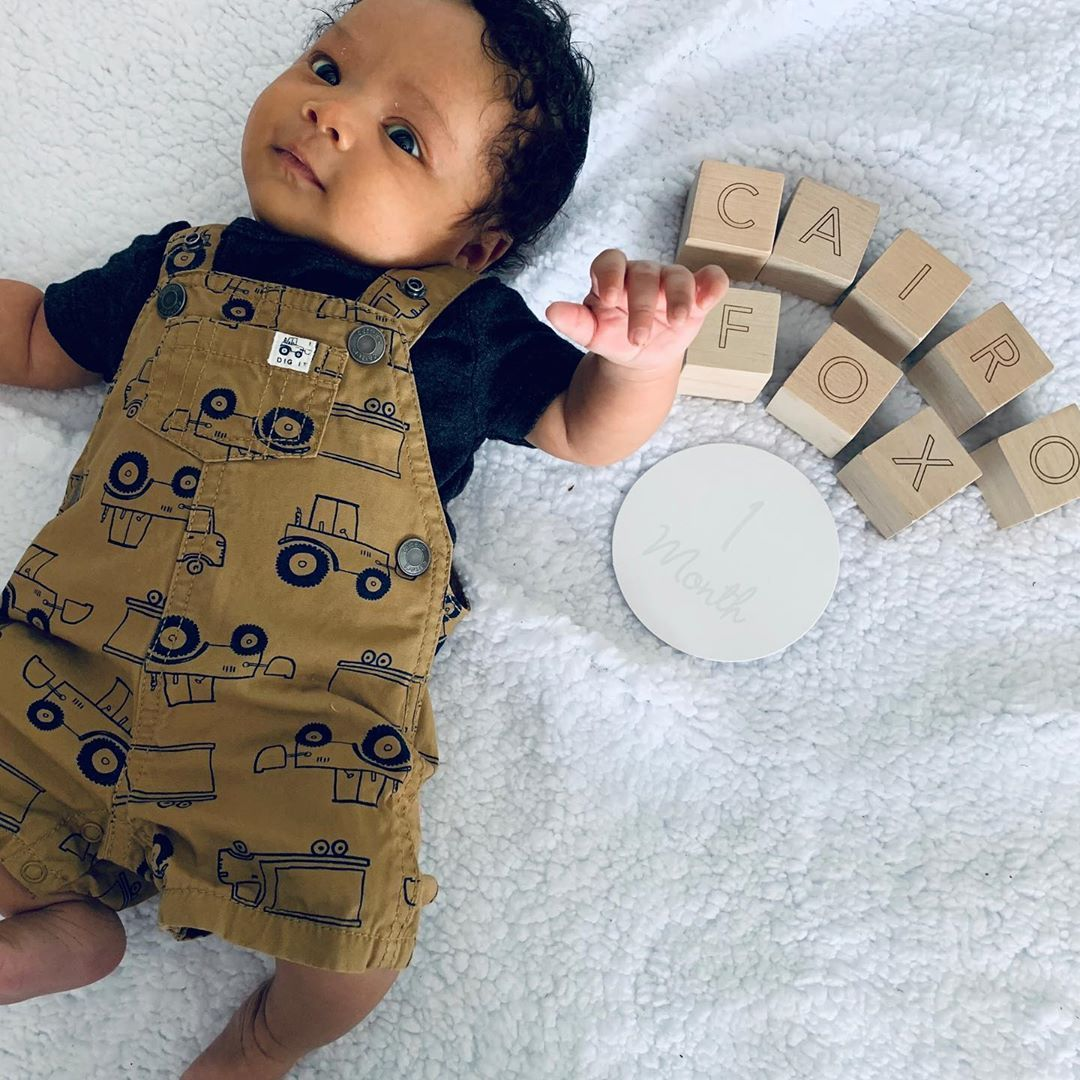 72 Likes 5 Comments Cairo Fox Cairofox On Instagram Throwback To My One Month Photo Shoot Cute Newborn Baby Boy Baby Boy Outfits Swag Black Baby Boys