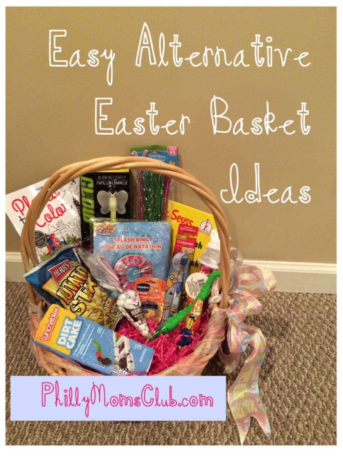 Easy Alternative Easter Basket Ideas